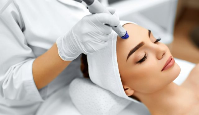 Face-Skin-Care.-Facial-Hydro-Microdermabrasion-Peeling-Treatment